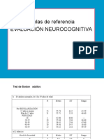 Baremos de Test TP Neurociencias