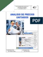 Manual Analisis de Precio Unitario