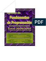 Apuntes completos del curso 2006/2007 Programación
