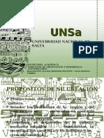 Carreras 2015 UNSA