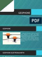 Geophone