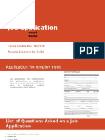 Job Application Must Know Eng