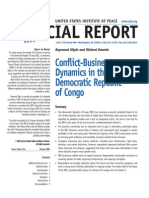 Conflict-Business Dynamics in RDC