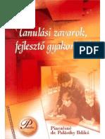 Tanulási zavarok fejlesztő gyakorlatok.PDF
