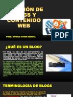 Seminario - Creaciones de Blogs