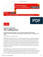 The Walking Dead _ the Economist