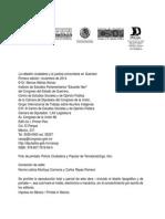 MATIAS ALONSO, ARESTEGUI RUIZ, VAZQUEZ VILLANUEVA comps. La rebelión ciudadana y la justicia comunitaria en Guerrero
