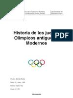 Historia de los Juegos Olímpicos