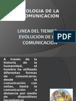 Linea de tiempo de la comunicación