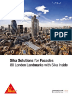 Solutions for Facades 80 London Landmarks