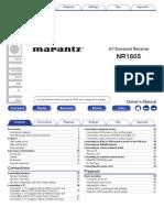 Marantz Amplifier - NR1605_NA_EN.pdf