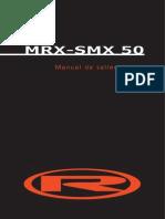 Manuel d'Atelier MRX SMX 50 Eng