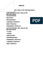 El Valle de Pachachaca