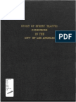 1915 Study of Street Traffic Conditions in the City of La