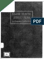 1924 Traffic Street Plan