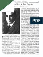 1926 Municpal Employee Traffic Problem Los Angeles