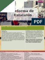 Reforma de estatutos definitiva