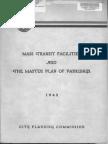 1942 Mass Transit Facilities Master Plan Parkways