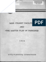 1942 Mass Transit Facilities Master Plan Parkways