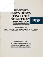 1946 Plant Engineering Suggested Downtown Traffic Solution Program