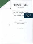 1947 Town Hall Los Angeles Traffic Transit Problem
