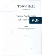 1947 Town Hall Los Angeles Traffic Transit Problem