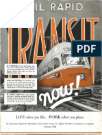 1948 Rail Rapid Transit Now