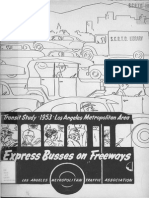 1953 Express Buses on Freeways