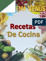 Recetas de Cocina Venus