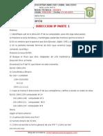 Direccion IP 1