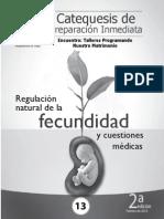 Regulacion Natural de La Fecundidad y Cuestion Medica