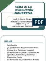 Tema 2- La Revolución Industrial