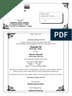undangan syukuran nikah.doc
