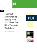 The Most Effective Goal-Setting Plan You'll Ever Find. (Plus Template Worksheet) | Technori.pdf