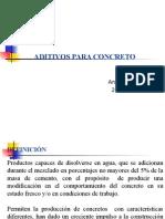 Aditivos Químicos - Materiales de Construcción