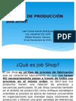 Sistema de Producción Job Shop