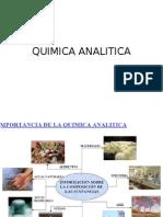 Introducción de Química Analítica