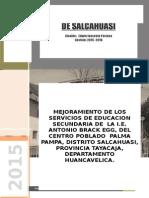 Tdr Salcahuasi