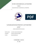 Aceleradores Electronicos AUDI