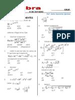 Álgebra Grupo de Estudio Semana 1,2,3.