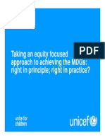 Equity Focused Approach Equity Focused Approach