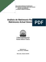 El Matrimonio Romano y Venezolano
