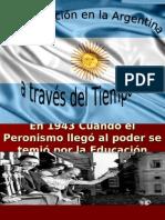 Presentación Para Historia de La Educacion Argentina
