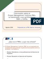 Pmp Pmi Info