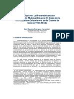 Colaboracion Latinoamericana en Operaciones multinacionales