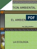 El Ambiente y Sus Componentes