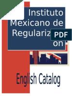 Catalogo de Ingles Caratula