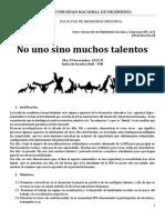 Talento 2015-II