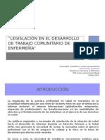 Legislación en El Desarrollo de Trabajo Comunitario (1)