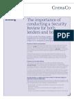 Security Reviews